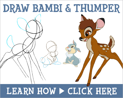 learn how to draw bambi bambibluray