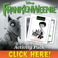 Download Frankenweenie Activity Pack