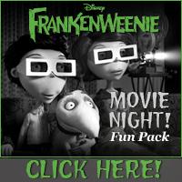 Download Frankenweenie Movie Night Fun Pack