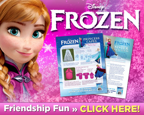 Disney Frozen: Make Your Own Princess Capes & Sister Bracelets