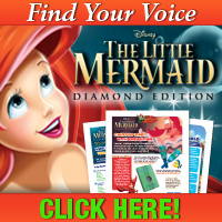 LMDE BTN 200x200 voice The Little Mermaid Coupon | Save $7 on the Blu ray Combo Pack
