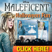 MAL BTN 200x200 halloween Maleficent is arriving on DVD next week, Nov 4th!