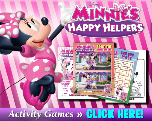 New Activity Games from Minnie's Happy Helpers!