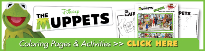 Download The Muppets Activities!