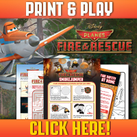 Planes Fire & Rescue! Print Your Own Activity Sheet!