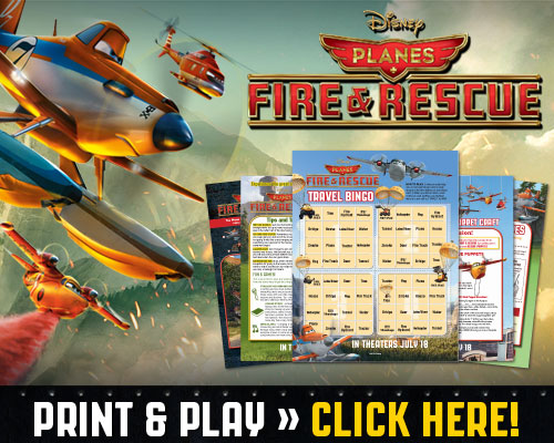 Disney PLANES: Printables, Activities, Family Time, and More! #FireAndRescue