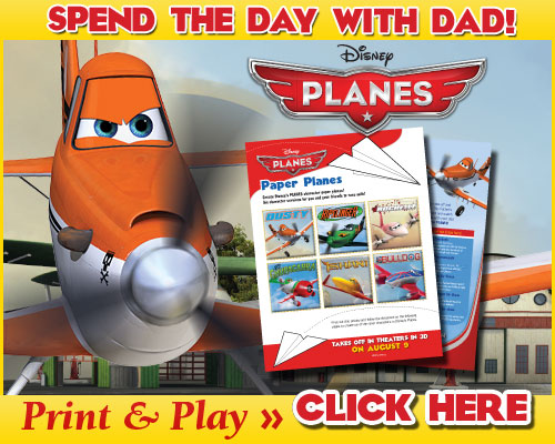 Download Spend the day with dad! Father's Day Activities #DisneyPlanes