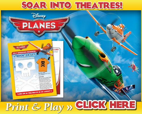 Entertainment Roundup: Free Printable Activities from Disney's Planes #DisneyPlanes