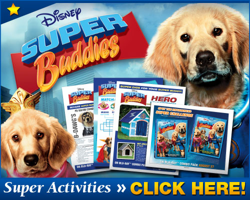 Kids Entertainment News: Free Printables from Disney's Super Buddies