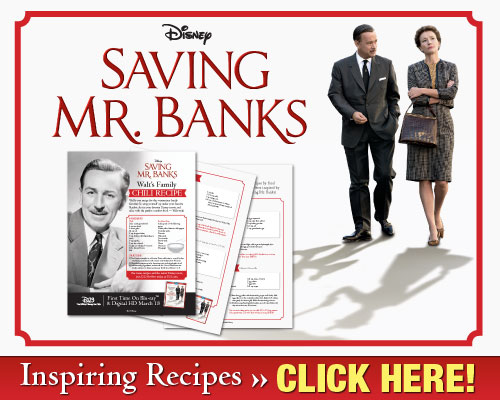 Download Walt Disney's Inspiring Recipes - Saving Mr. Banks - Recipes Inspired by the Film