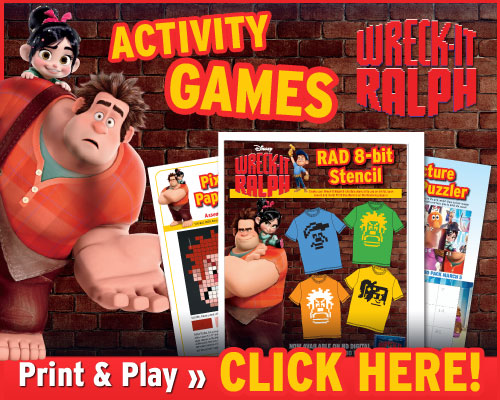 Wreck-It Ralph Blu-ray 3D Review