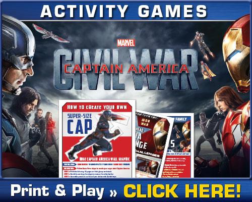 Download Captain America Civil War Activities