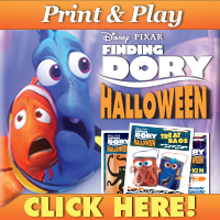 Download Finding Dory Halloween Activities