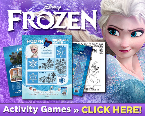 Download Frozen Activities #DisneyFrozen