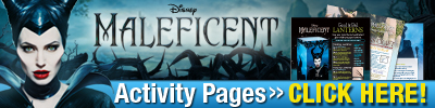 Download Maleficent Activity Pages