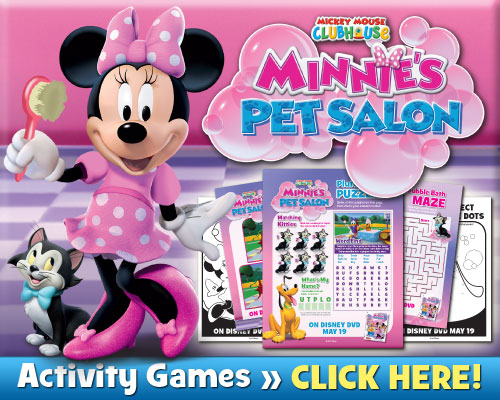 Download Minnie's Pet Salon Activities