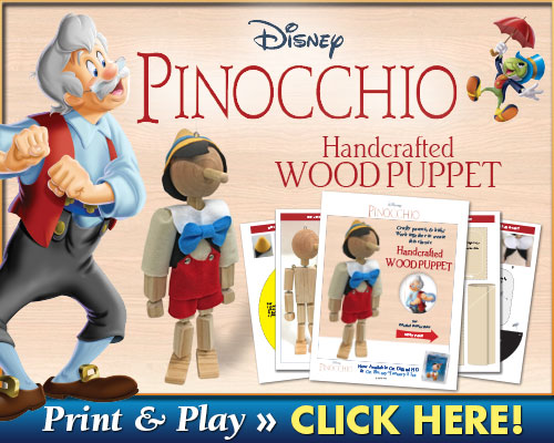 Download Pinocchio Handcrafted Wood Puppet