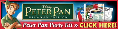 Download Peter Pan Party Kit