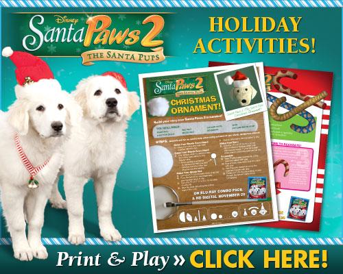 download Santa Paws 2 Holiday Activities!